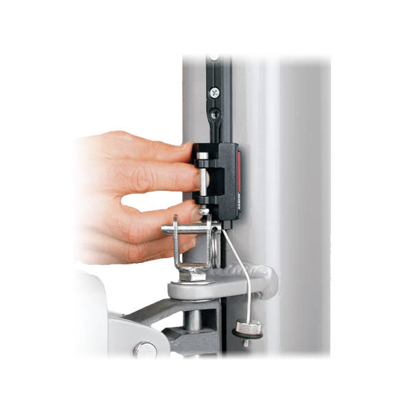 22 mm Track Endstop Kit — Flat Mast Groove, Screwpin